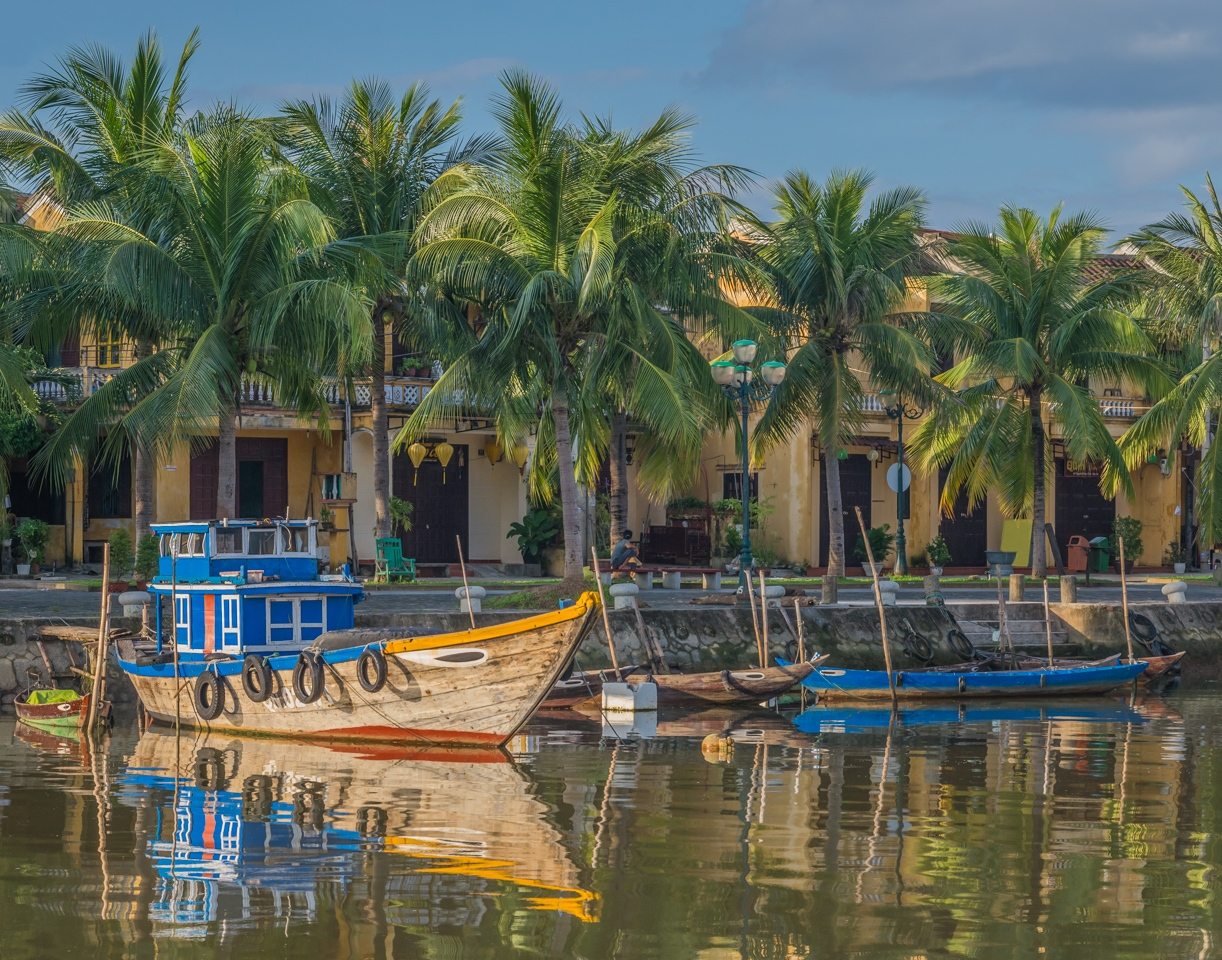 Morning Along the River in Hoi An - Cindy Carlsson - SPCC