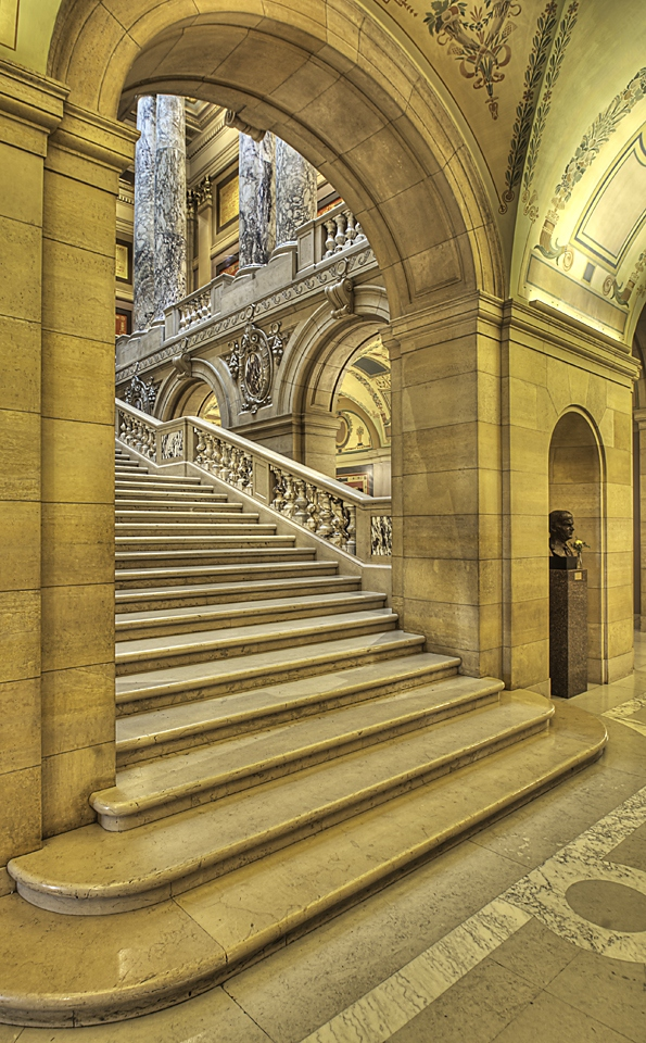 Archway and Stairs - Rachel Cain - NMPC
