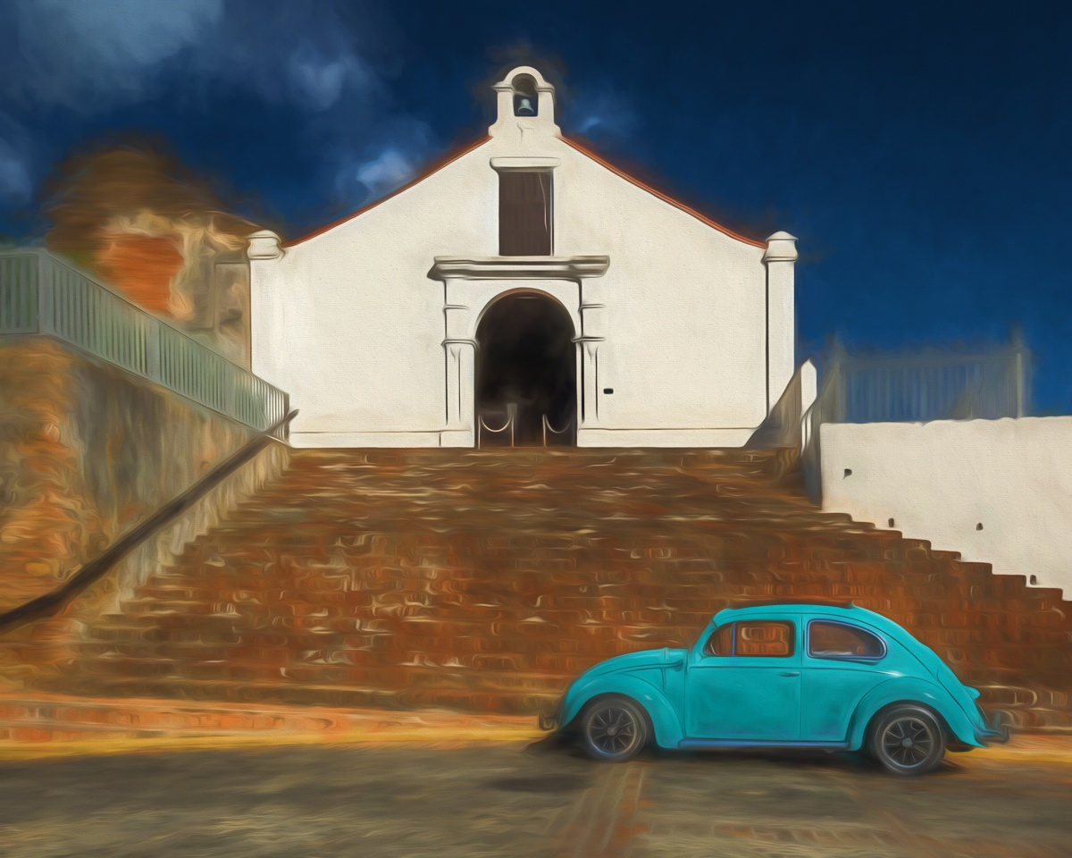 Blue Bug in San German, Puerto-Rico - Cindy Carlsson - SPCC
