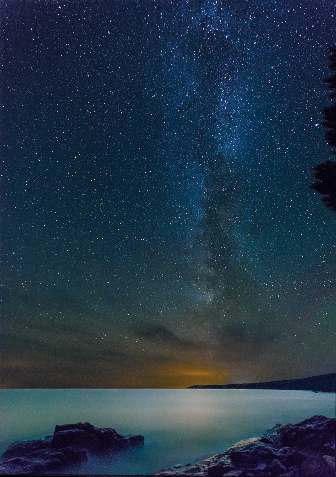 Lake Superior Milky Way - David Perez - MNCC