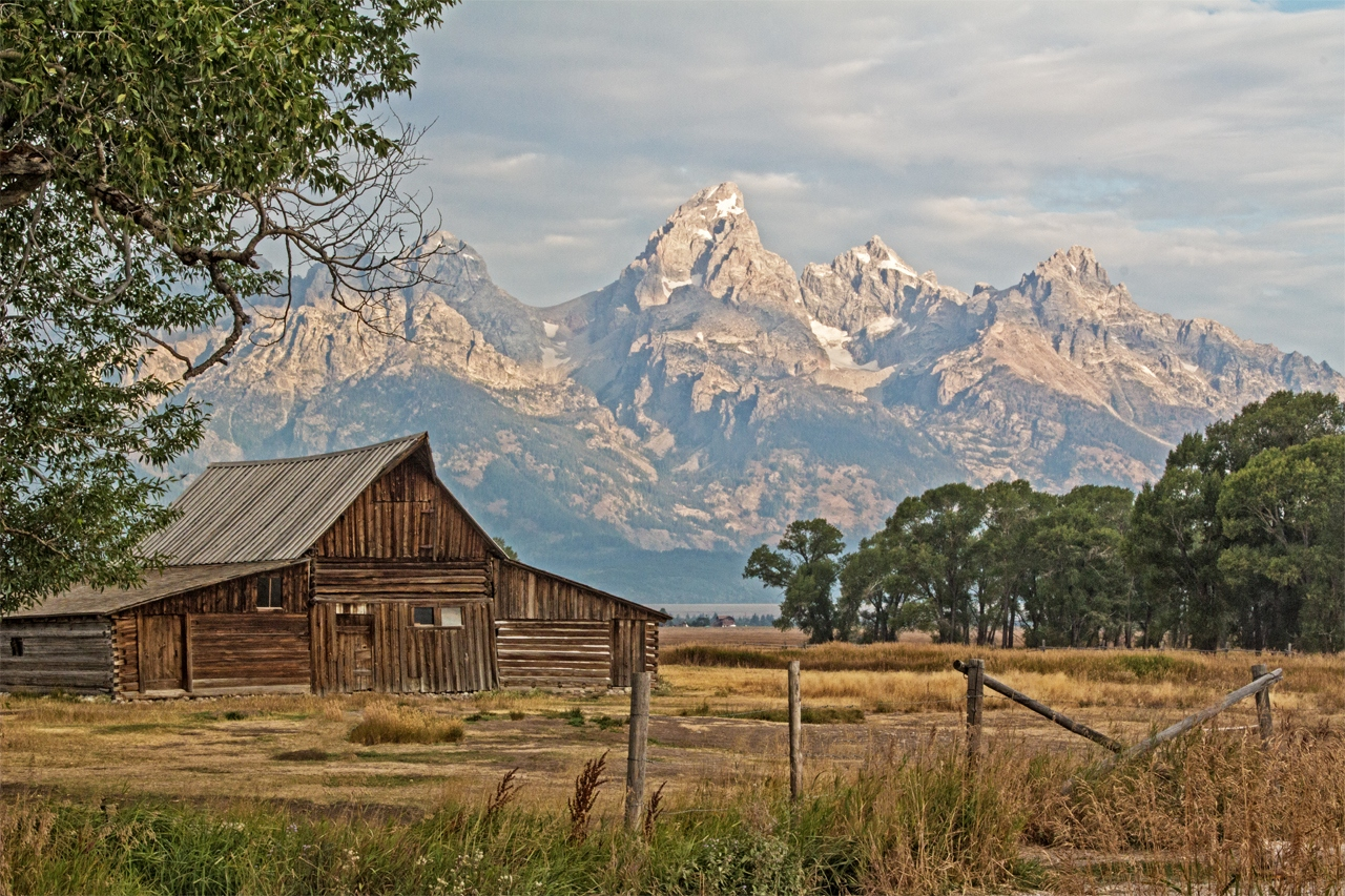 Moulton Barn - Grand Teton National Park - Gail Birrenbach - SPCC