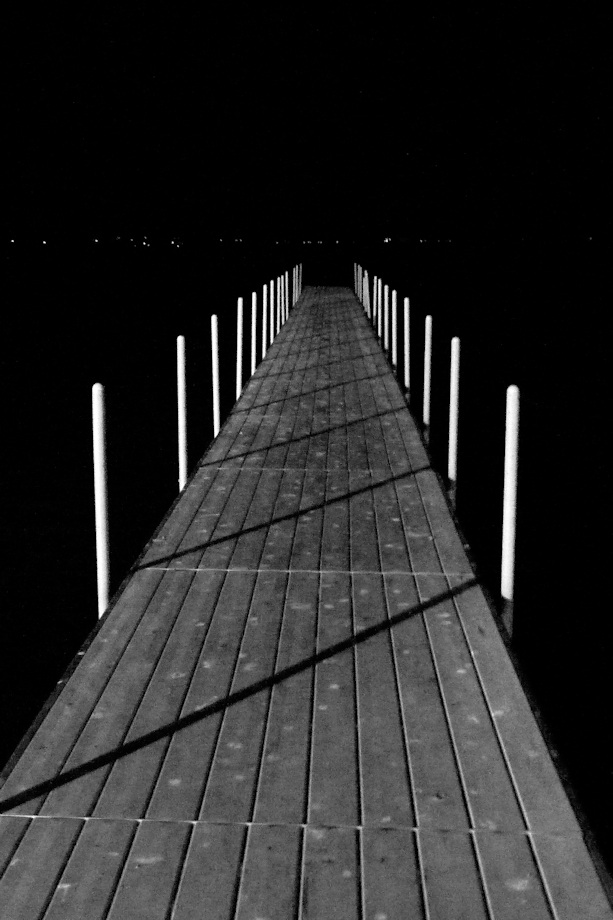 The Dock At Night - Nancy Crombie - SCVCC