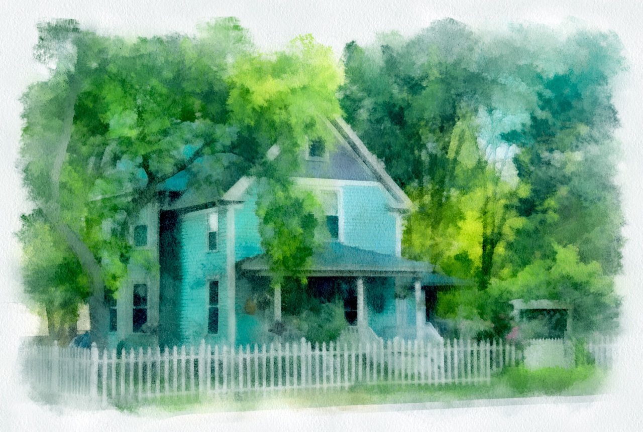 The House with the White Picket Fence - Terry Butler - WWPC