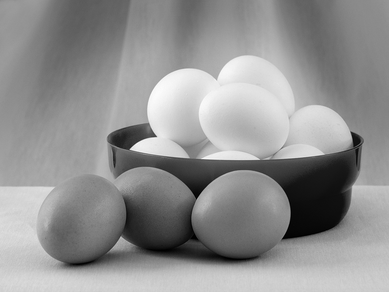Brown and White Eggs - Margaret Boike - SPCC