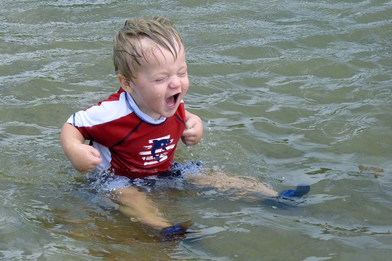 Fun in the Water - Nancy Crombie - SCVCC