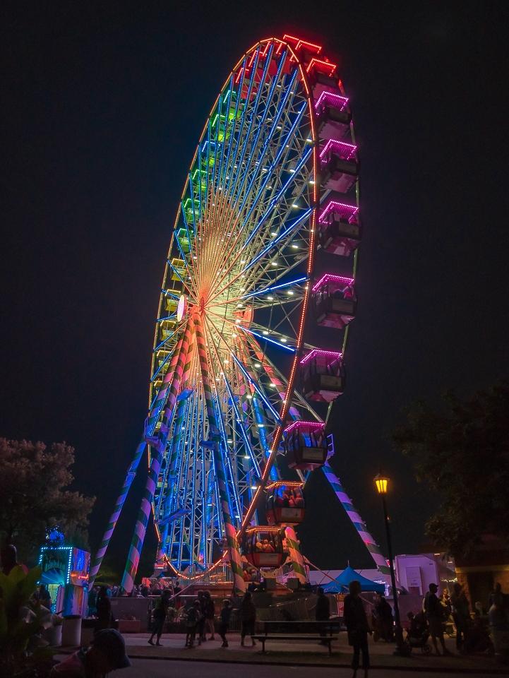 Largest Rainbow Wheel - Karen Biwersi = MVPC