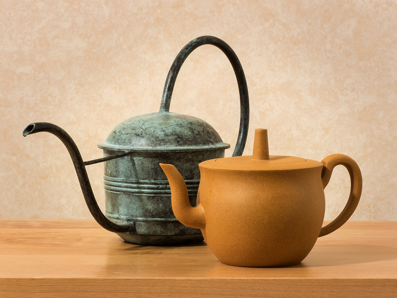 Watering Can and Teapot - Margaret Boike - SPCC