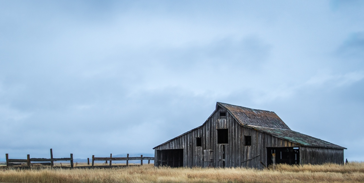 Weather-Beaten Barn - Linda Rutherford - WCPC
