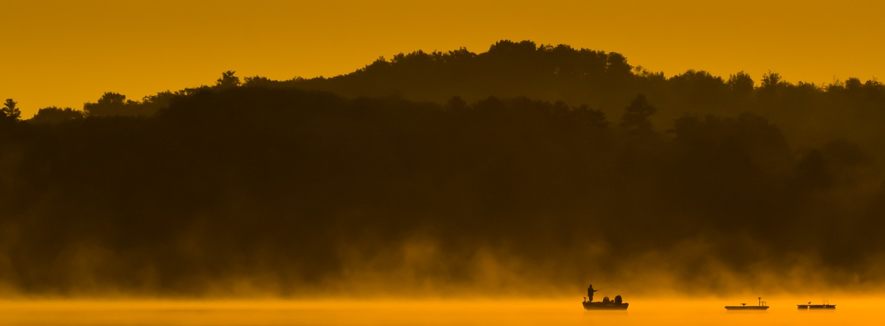 Honorable Mention - Fishing at Dawn - Leanne Zeller - MCC