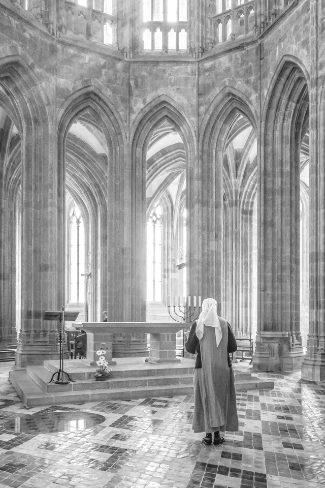 1st Place Image of the Year - Worship at Mont St Michel - Cindy Carlsson - SPCC