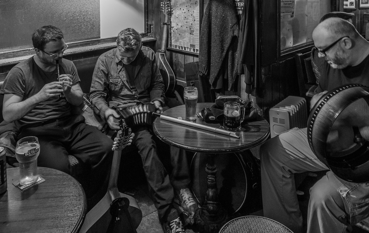 Honorable Mention - Nightly Musicians - Foleys Bar, Island, Sligo - Bev Kiecker - MVPC