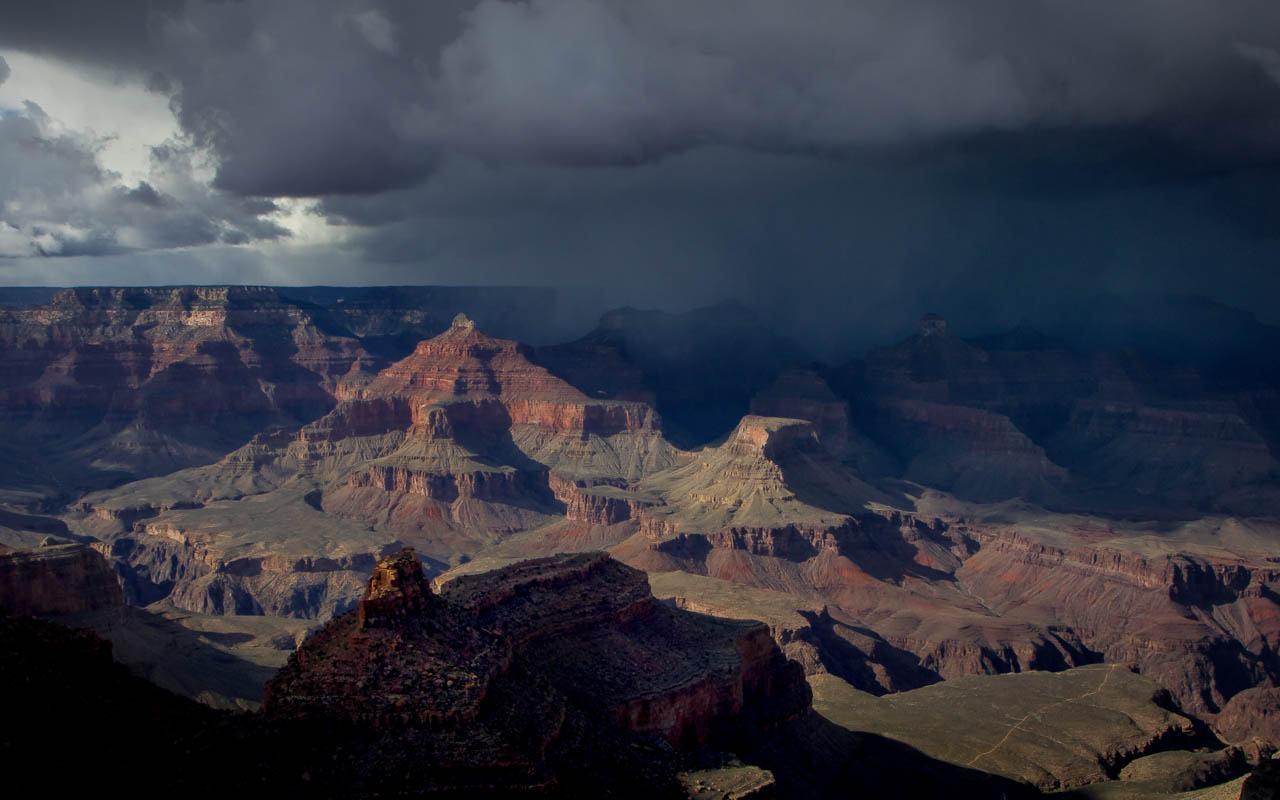 Grand Canyon Storm - Michael Waterman - WWPC
