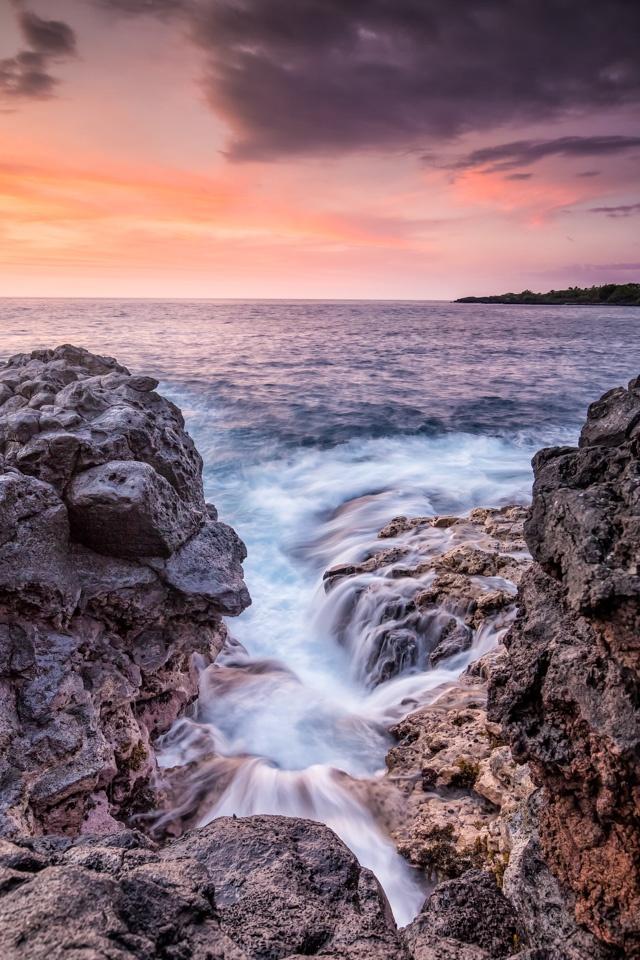 Sun Set at Maihi Bay - Tom Schendel - NMPC