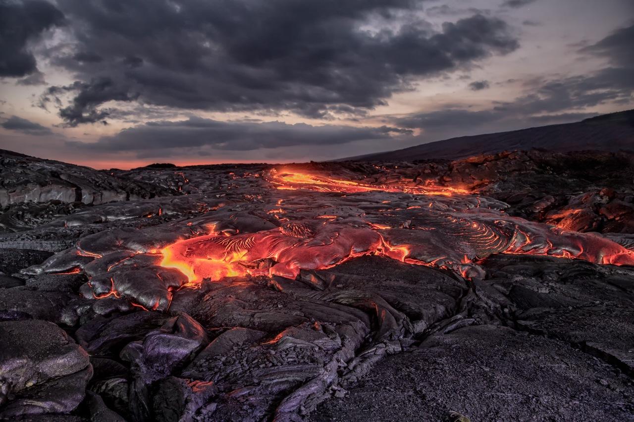 Volcanos NP Lava Field - Tom Schendel - NMPC