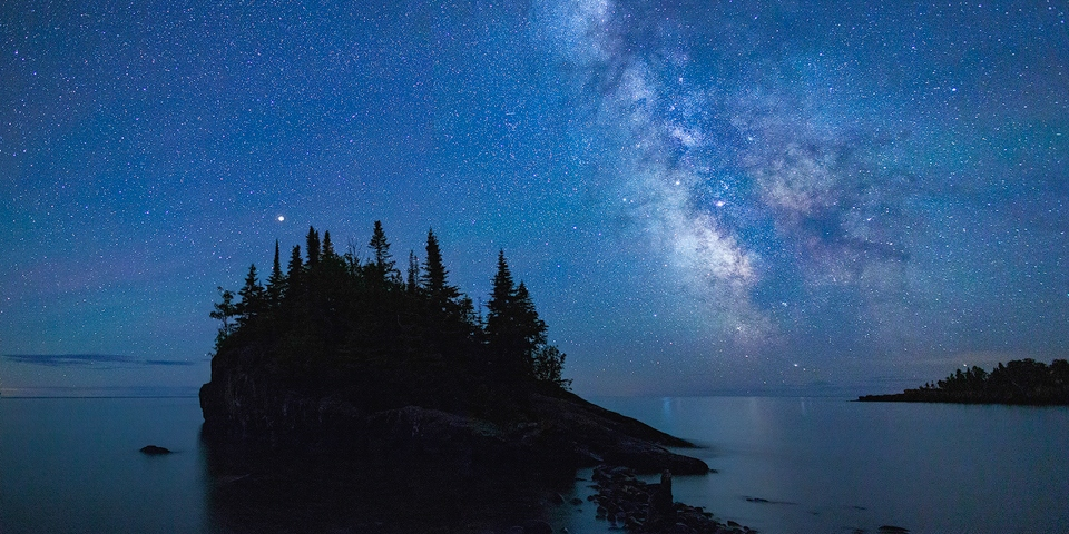 Award -Mars, Airglow and the Milky Way - Terry Butler - Western Wisconsin Photography Club
