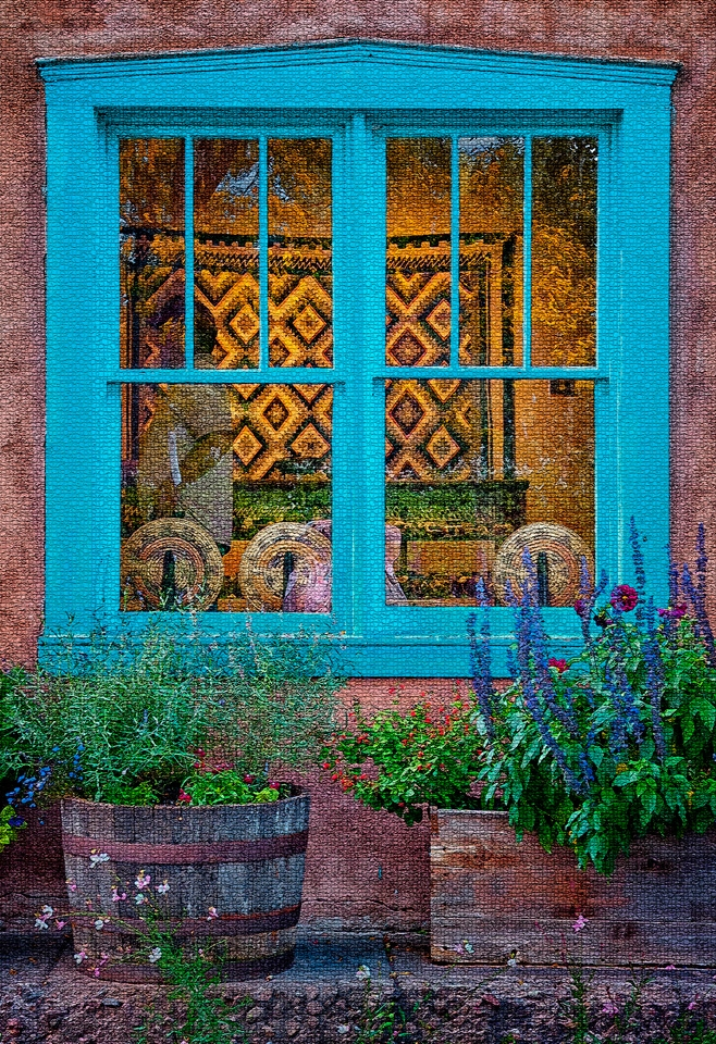 Blue window - Kathy Wall - NMPC