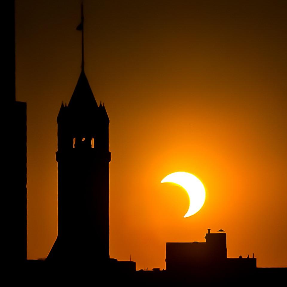Partial Solar Eclipse - Doug Heimstead - NMPC