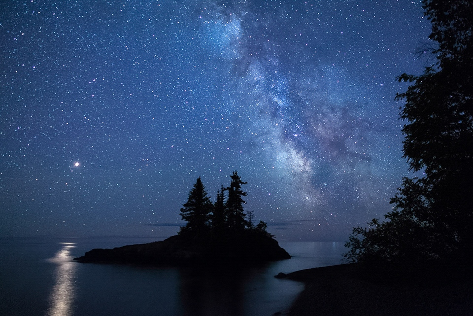 Mars and the Milky Way - Terry Butler - WWPC