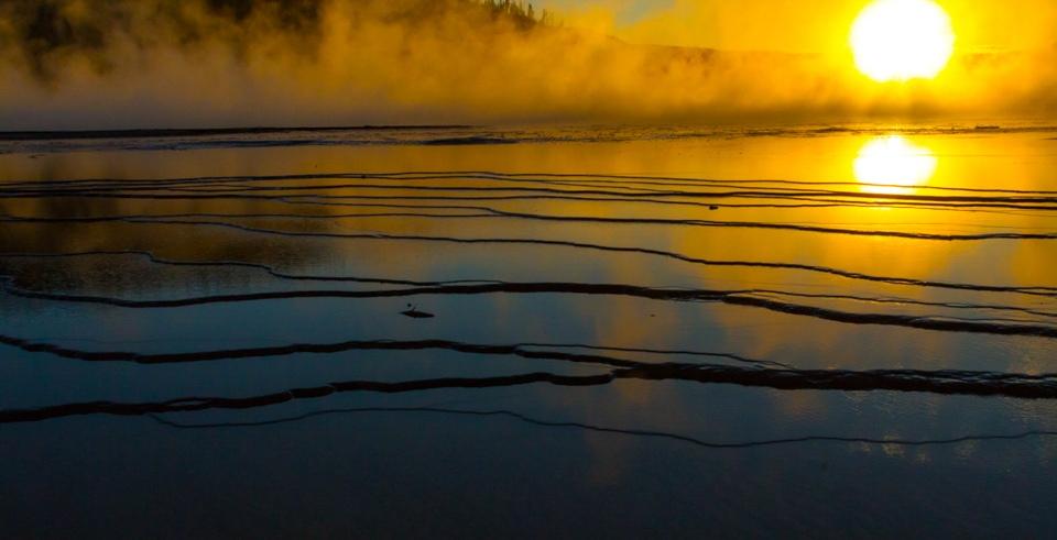 Sunset Yellowstone - Shakuntala Maheshwari - MCC