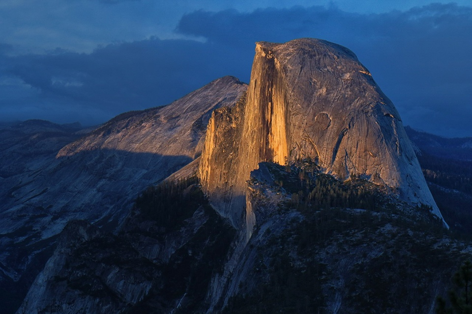 Honorable Mention - Sunset at Half Dome - Paul Kammen - Minnesota Nature Photography Club