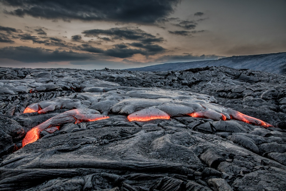 Honorable Mention - Volcanos NP Lava Field - Tom Schendel - North Metro Photo Club