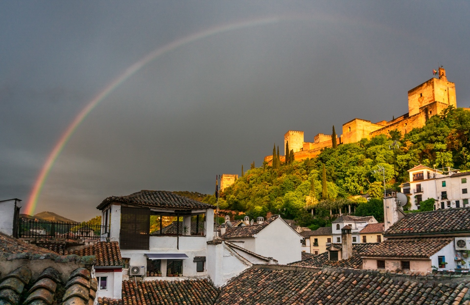 Alhambra with Rainbow - Car Fiegenschuh - MNPC