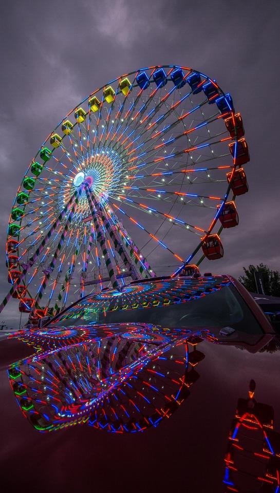 Ferris Wheel and Chevy - Scott Landseidel - MNPC