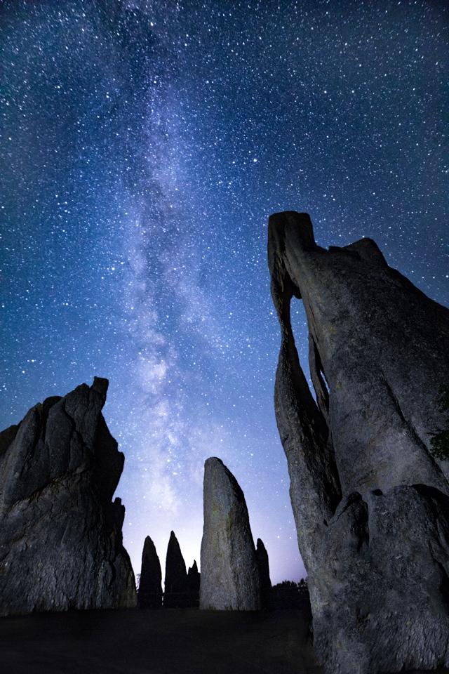 Milkyway at the Needles Eye - Tom Schendel - NMPC