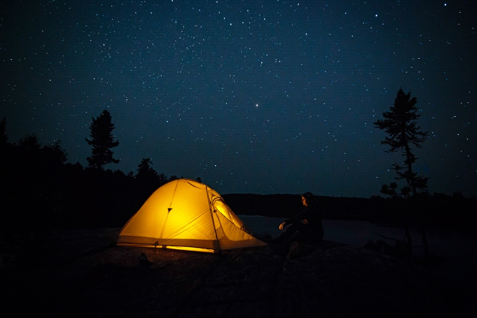 Award - Camping under the Stars - Terry Butler - Western Wisconsin Photography Club