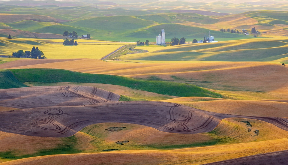 Honorable Mention - Palouse at Sunset - Carl Fiegenschuh - Minnesota Nature Photograpy Club