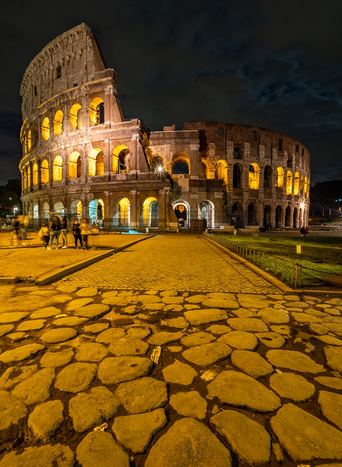Honorable Mention - Colosseum at Night Rome - Bev Kieker - Minnesota Valley Photo Club