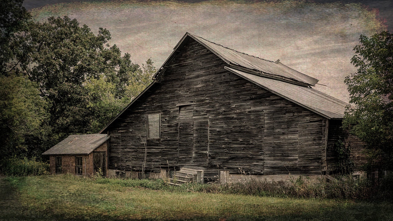 Antique Black Barn - Pat Boudreau- NMPC