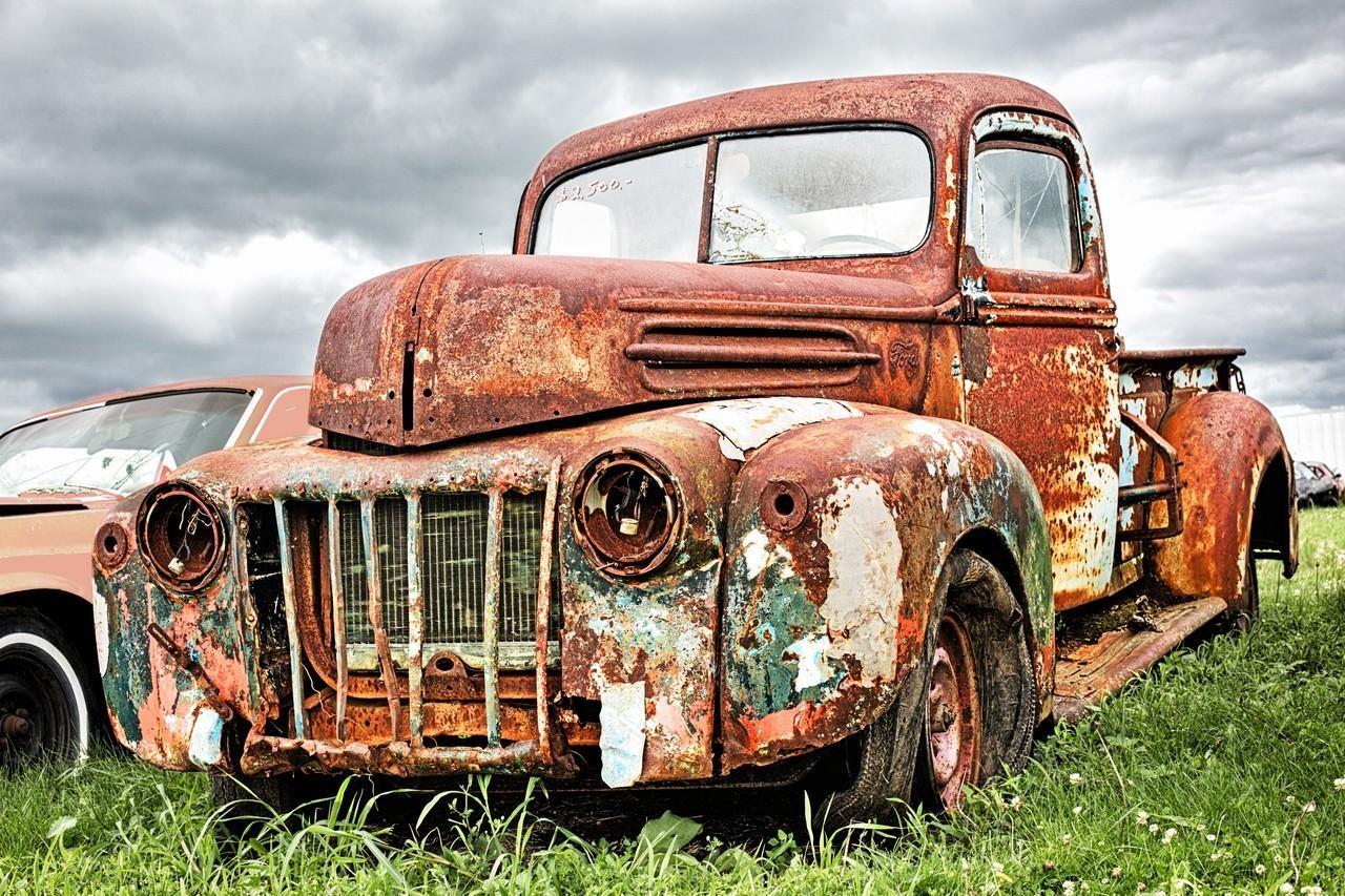 Derelict Truck - Ronnie Hartman - MPS