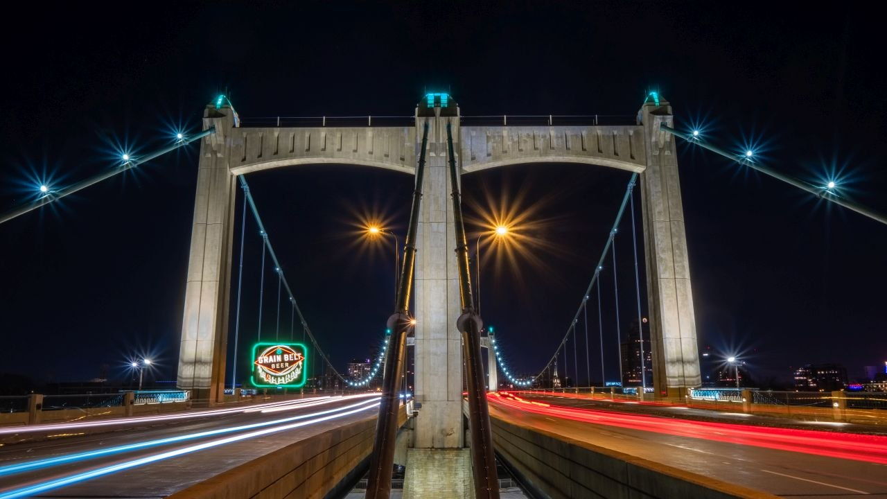 Honorable Mention - Hennepin Avenue Bridge - Levi Janssen - Mankato Digital Photography Club