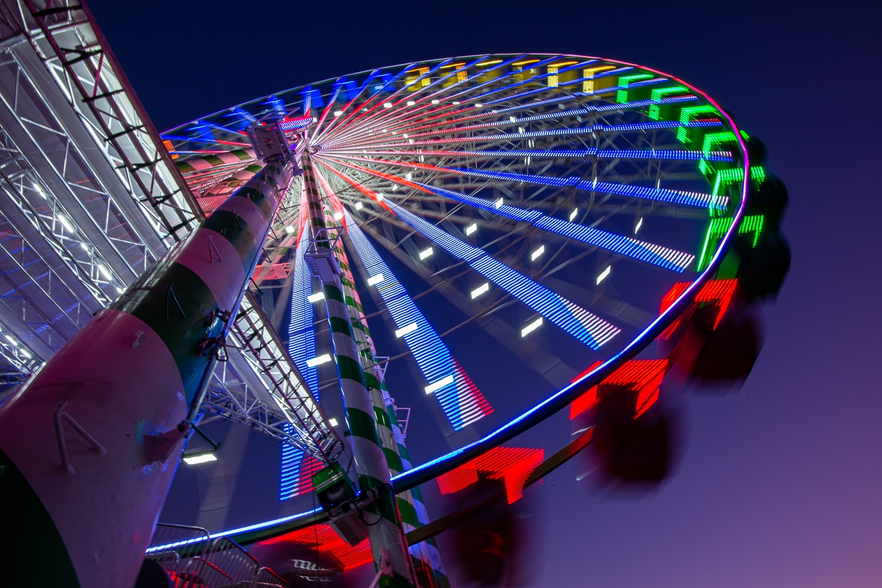 Ferris Wheel Rainbow - Scott Landseil - MNPC