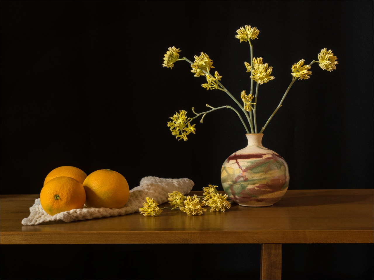 Oranges and Milkweed - Peggy Boike - SPCC