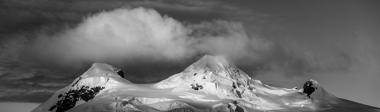Snowy Mountains Black and White - Brian Doyle - MNPC