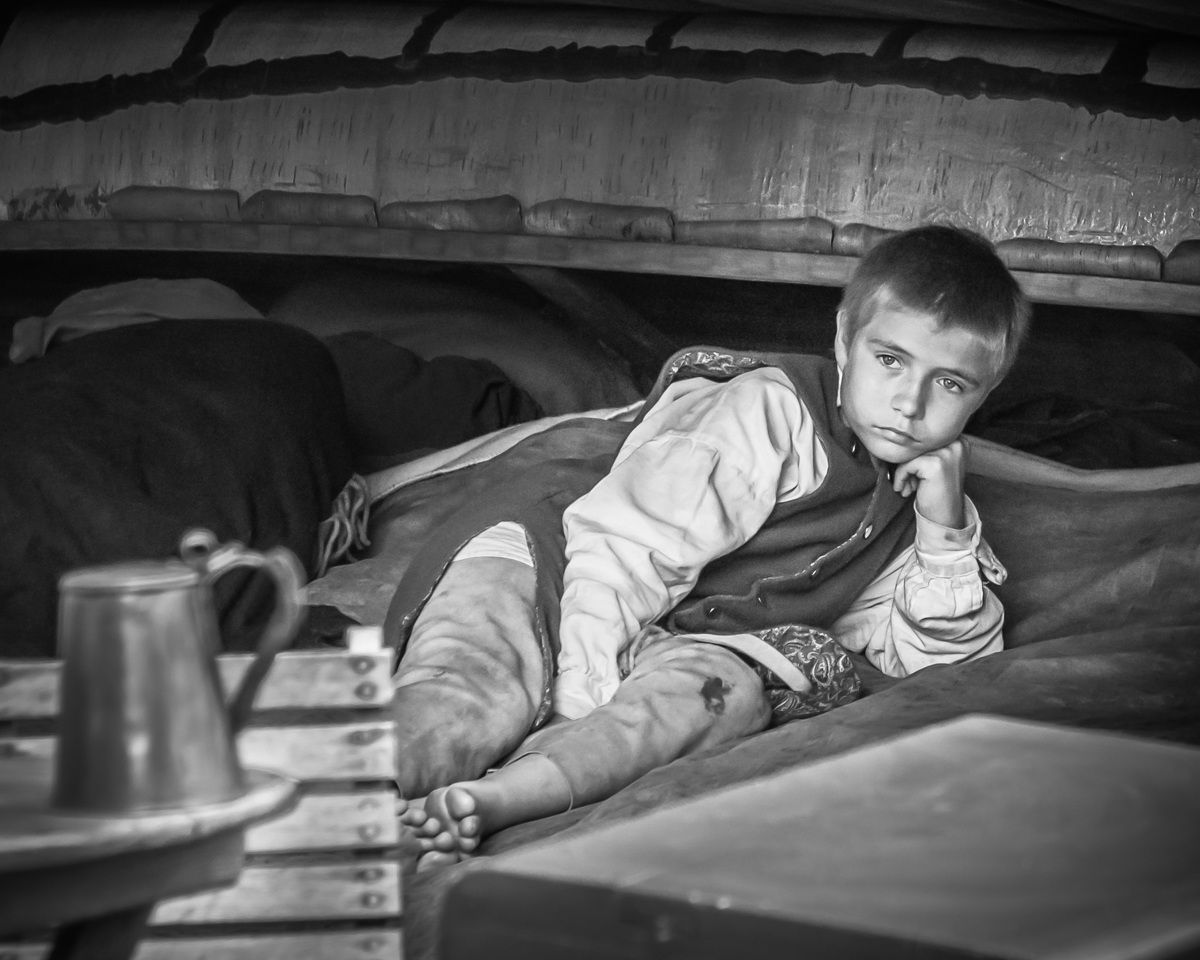 Lost in Thought in Camp - Cindy Carlsson - SPCC