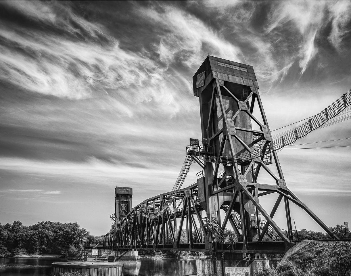 Hastings Train Bridge - Terry Butler - WWPC