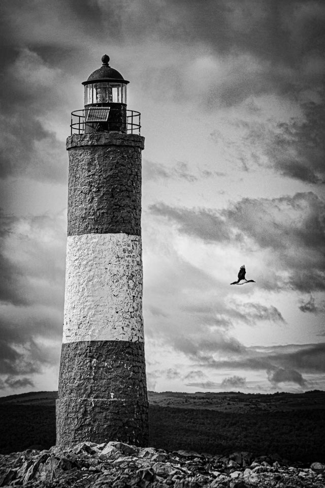 Lighthouse Beagle Channel - Linda Rutherford - WCPC