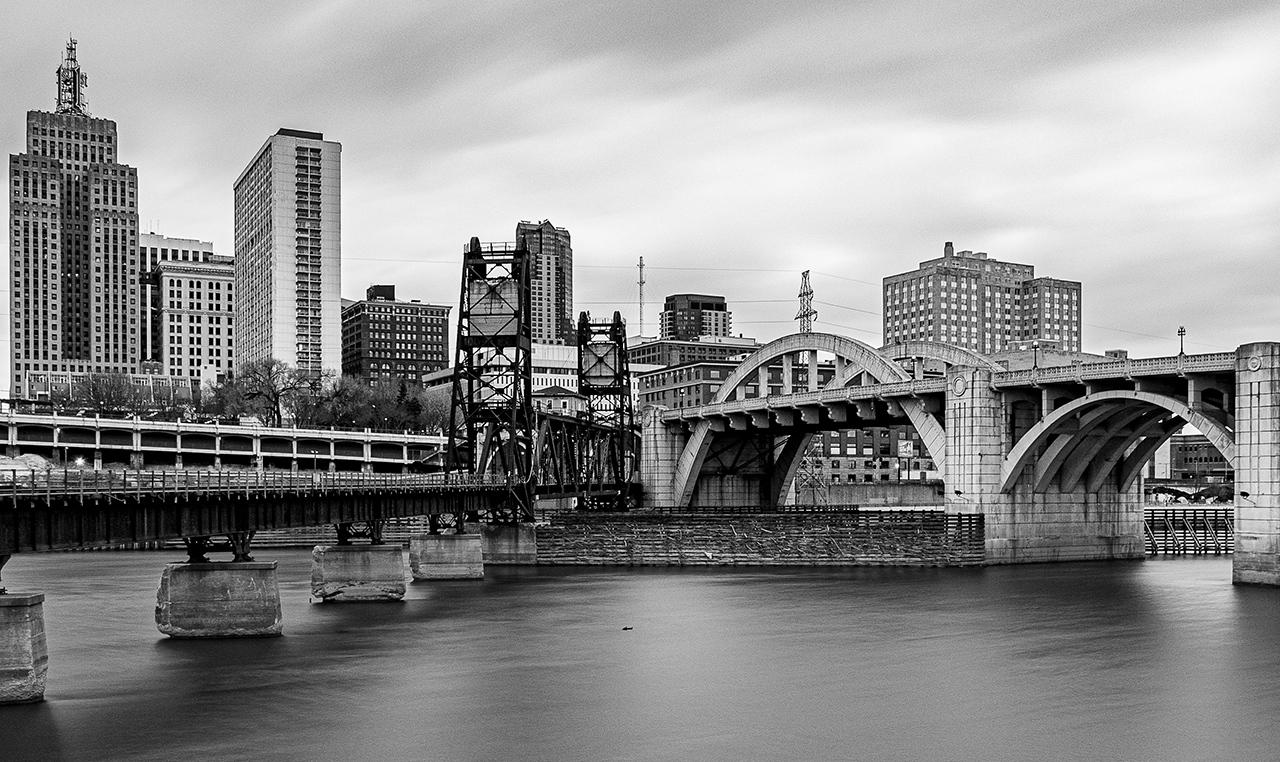 St. Paul Converging Bridges - Pat Boudreau - NMPC