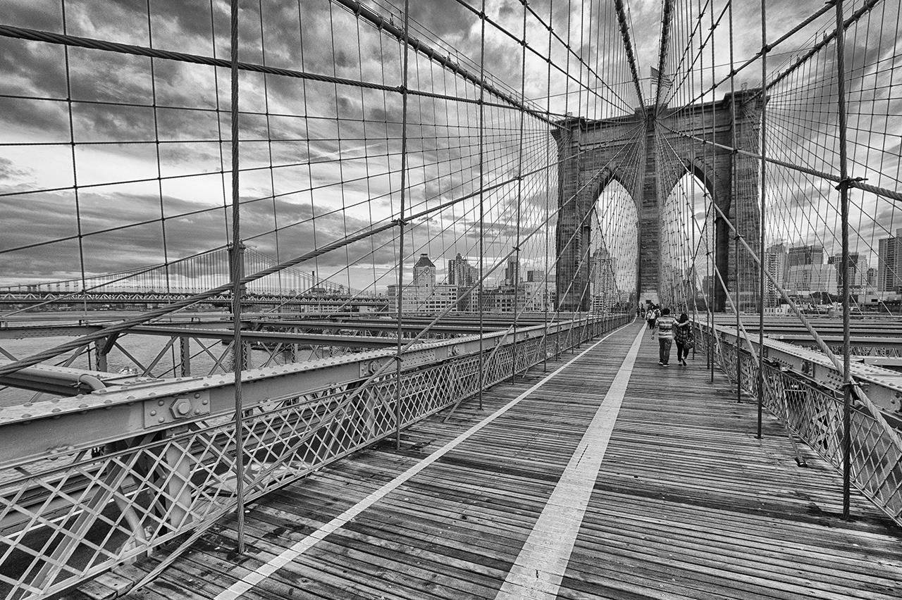 2nd Place Runner Up - Brooklyn Bridge - Paul Kammen - Minnesota Nature Photography Club