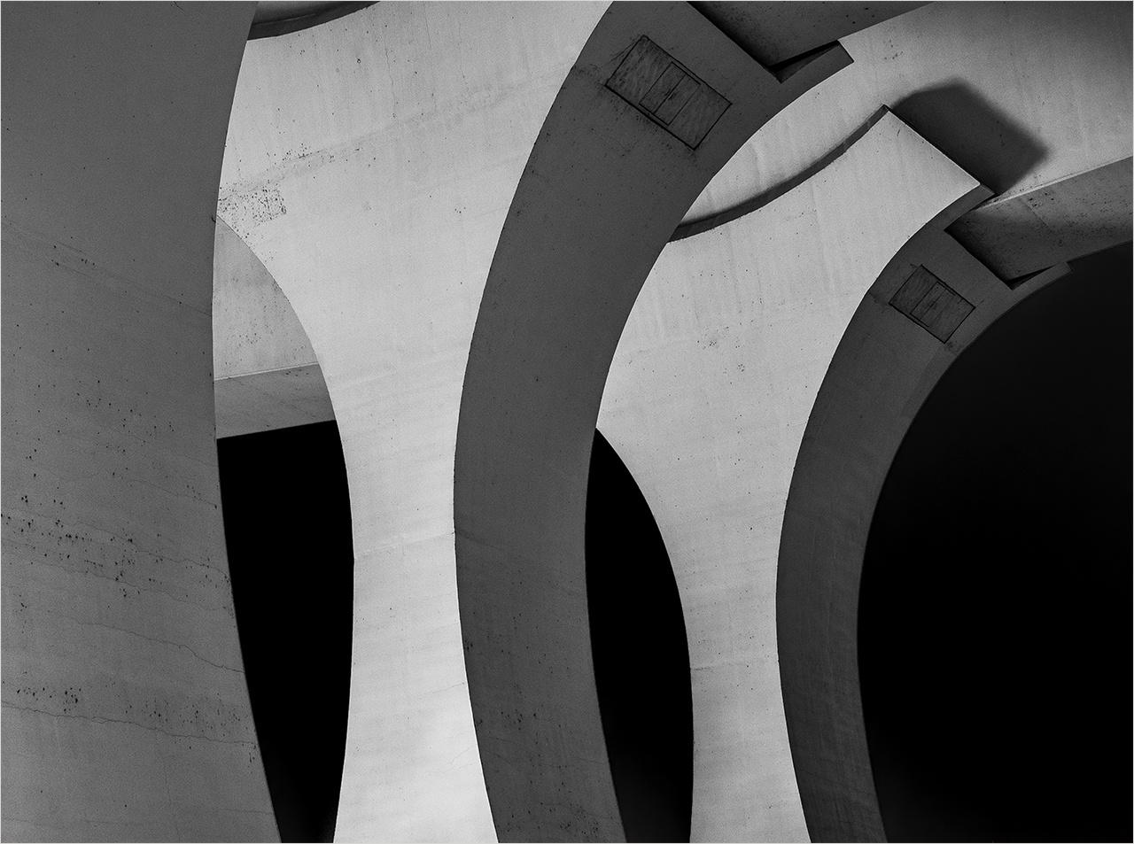 Honorable Mention - Bridge Piers - Pat Boudreau - North Metro Photo Club