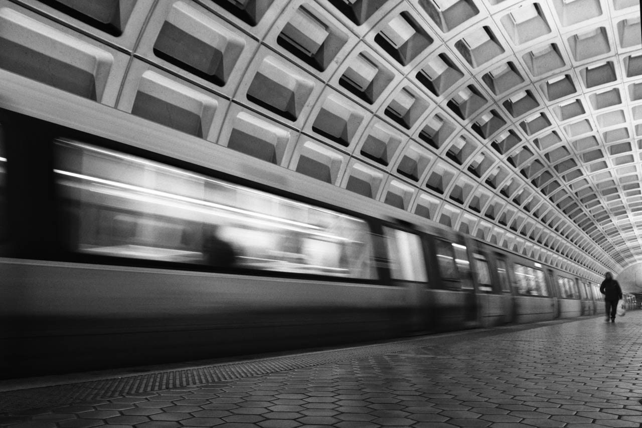 Honorable Mention - DC Metro Station - Michael Waterman - Western Wisconsin Photography Club