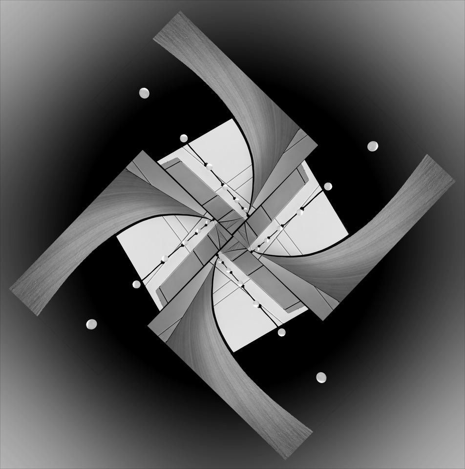 Bulbs and Shades Kaleidoscope - Peggy  Boike - SCVCC