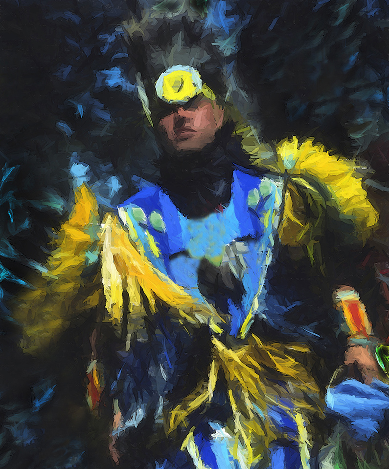 Pow Wow Dancer - Lawrence Syverud - TNCPC