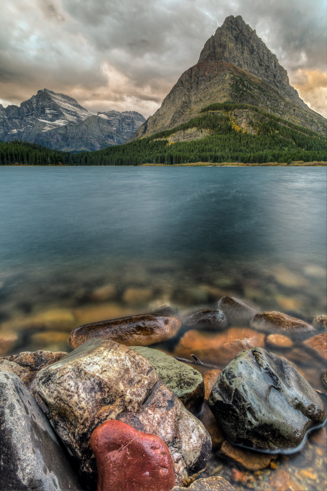 Evening at Swiftcurrent Lake - Rick Graves - MVPC