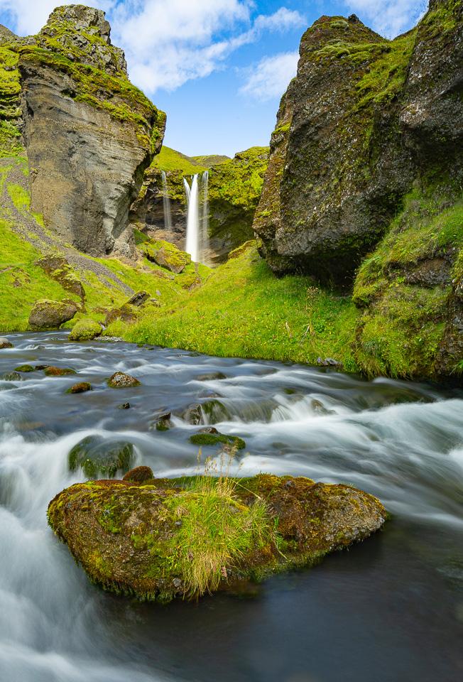 Icelandic Waterfall - Sandra Swanson - MNPC
