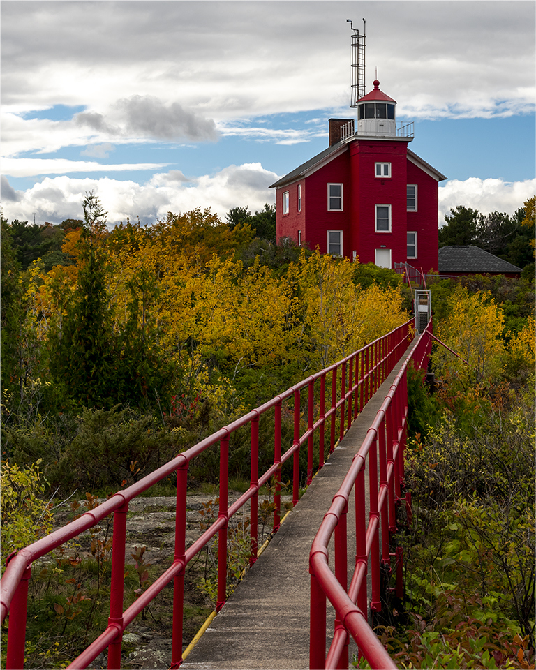 Marquette Lighthouse - Patrick Miller - NMPC
