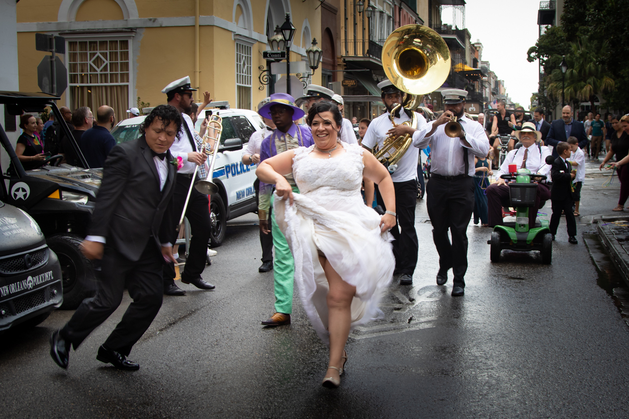 New Orleans Wedding Parade - Doug Heimstead - NMPC
